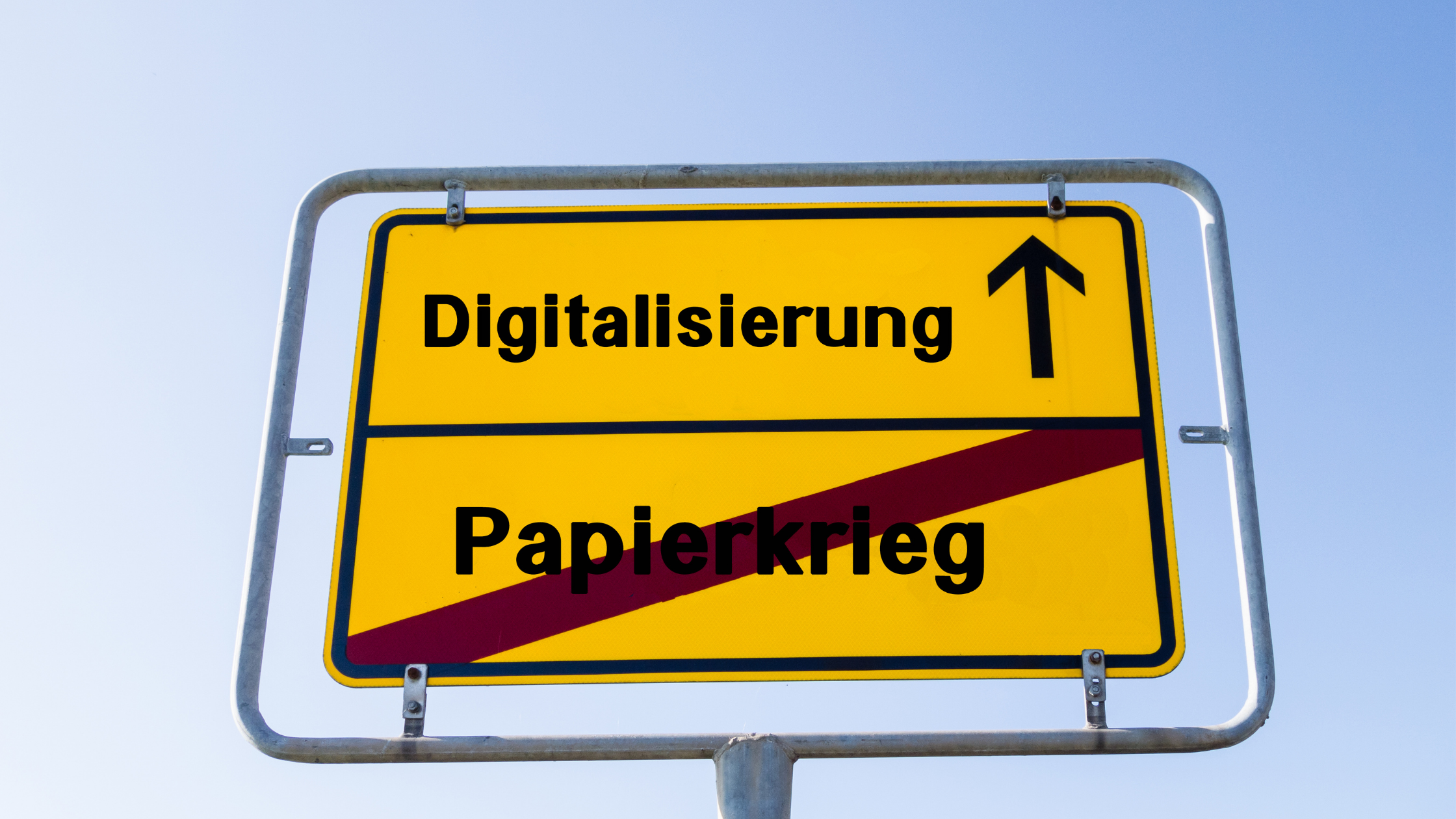 Moving from a paper-based system to a digital system